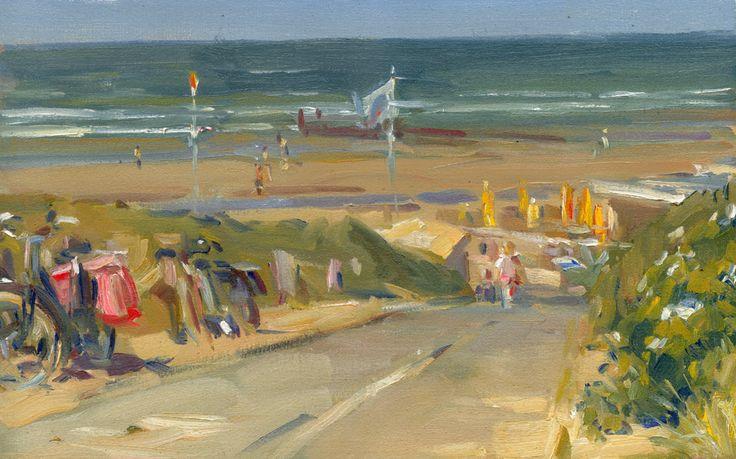 Strandopgang bij Domburg, Hans Versfelt