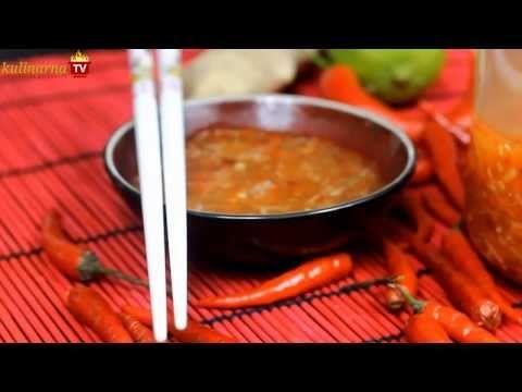 Słodko-Pikantny Sos Do Sajgonek - Chińskie Przepisy - Orientalny Serwis