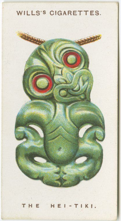 The Hei-Tiki | via NYPL Digital Gallery