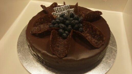 Black Dahlia..Death by chocolate cake.
