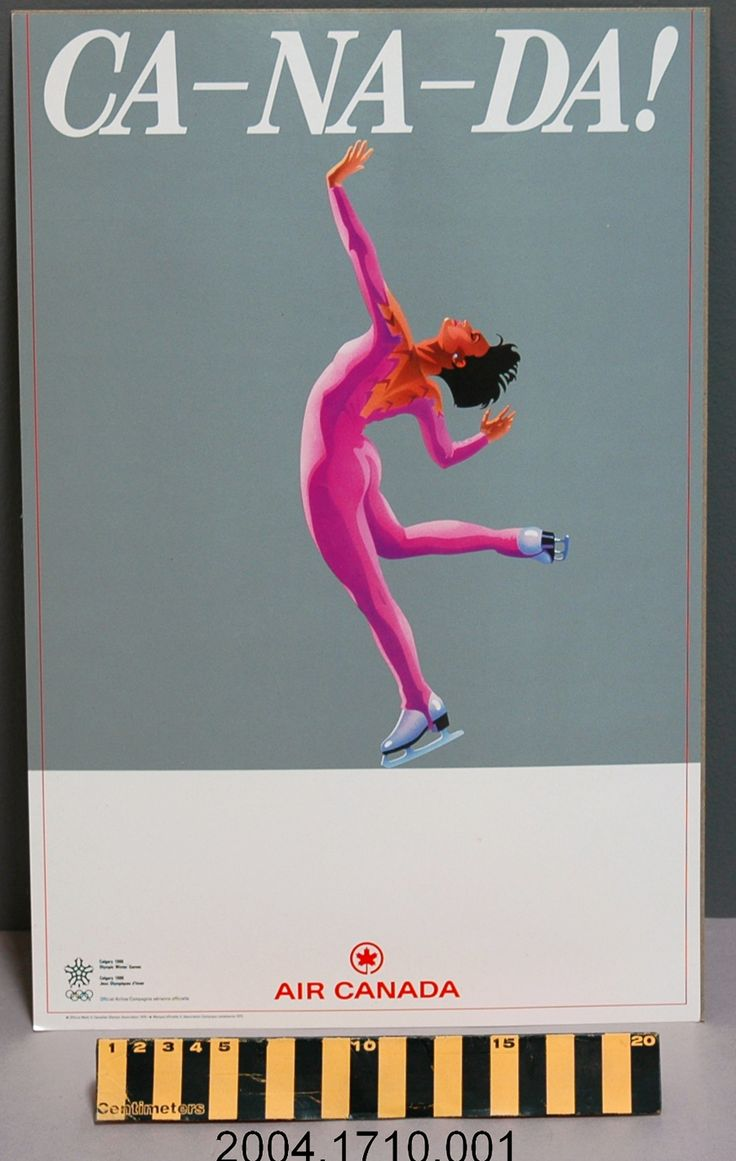 1988 Calgary Winter #Olympics promotional poster produced ...
