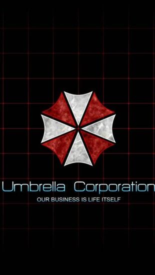 Umbrella Corporation Logo - The iPhone Wallpapers