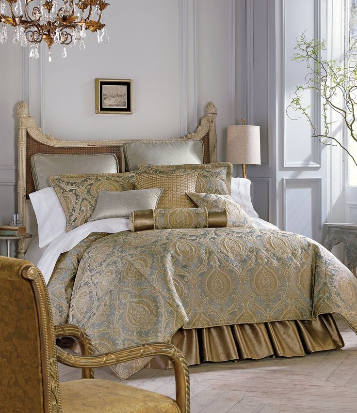 Rose Tree Norwich Damask Square Pillow Comforter sets