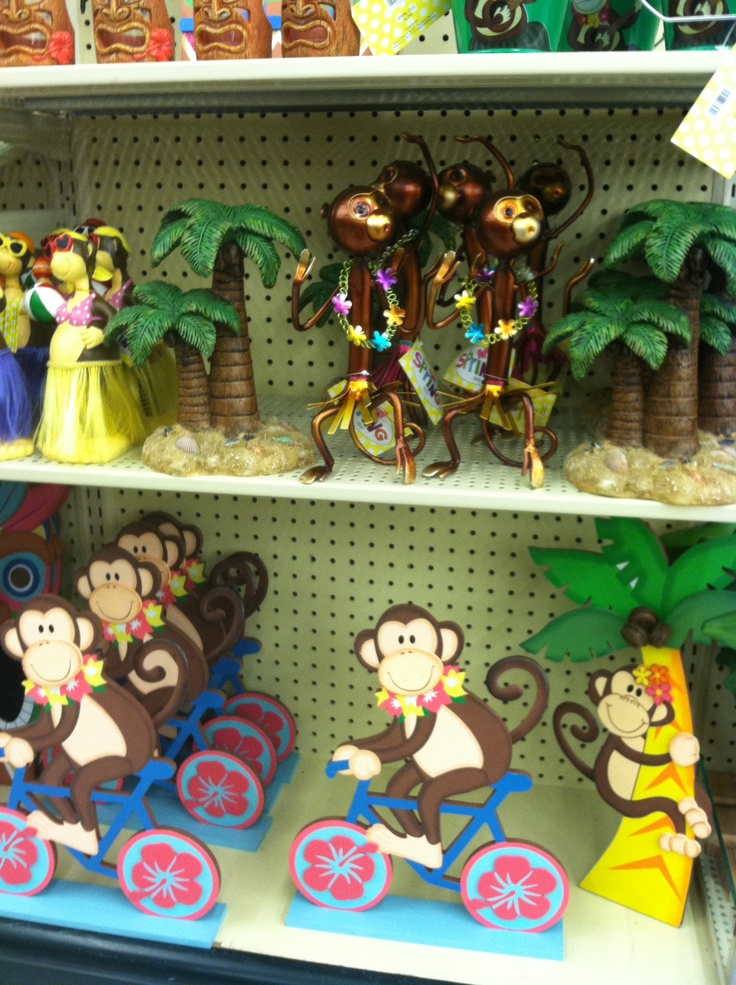 Monkey Theme Decor From HobbyLobby · MonkeysBathroom Ideas