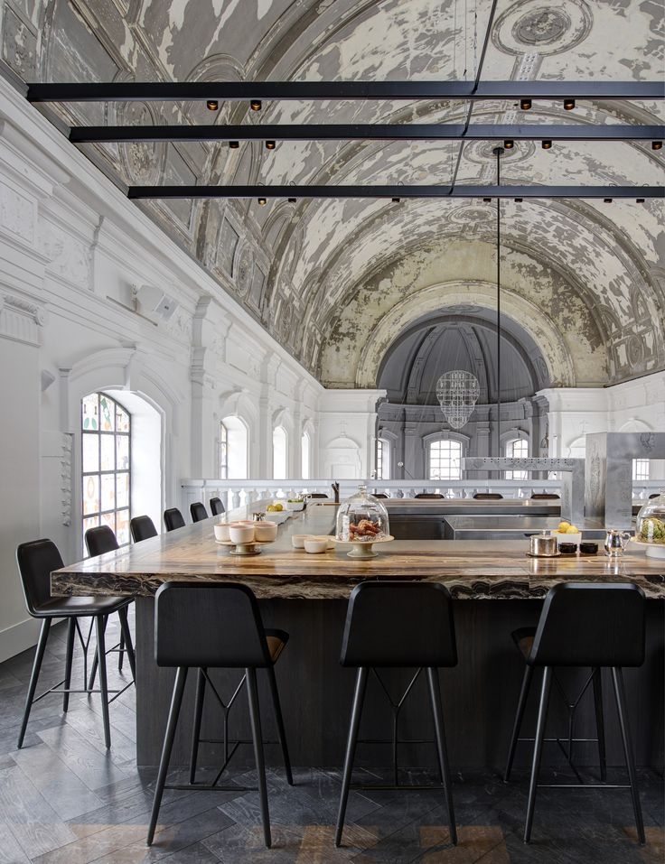 Image 3 of 11 from gallery of Restaurant 'The Jane' Antwerp / Piet Boon. Photograph by Richard Powers