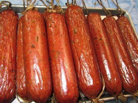 ▶ Smoked Jalapeno & Cheese Venison Salami - YouTube
