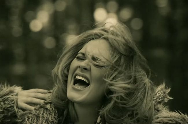 """Adele's """"Hello"""" crowns the Billboard Hot 100 (dated Nov. 21) for a second week, selling 635,000 U.S. downloads, according to Nielsen Music, after its record-..."""