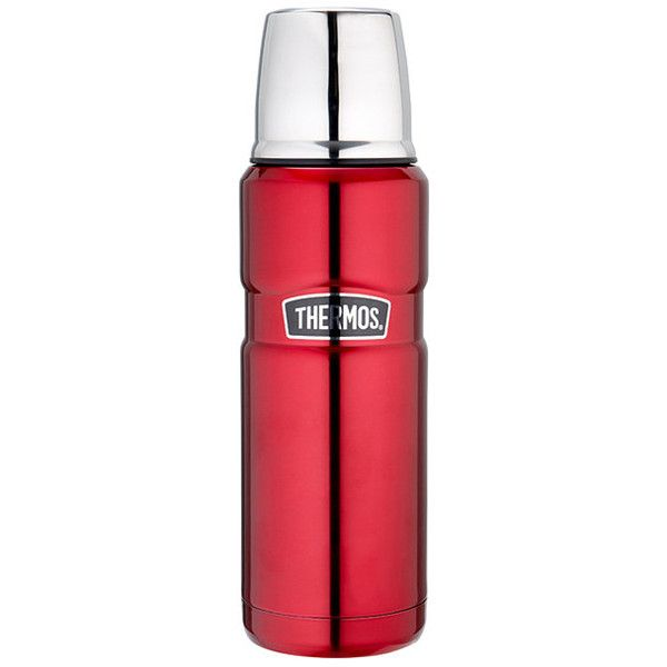 Thermos 470ml Vacuum Flask Red Target Australia (230 SEK) ❤ liked on Polyvore featuring home and kitchen & dining