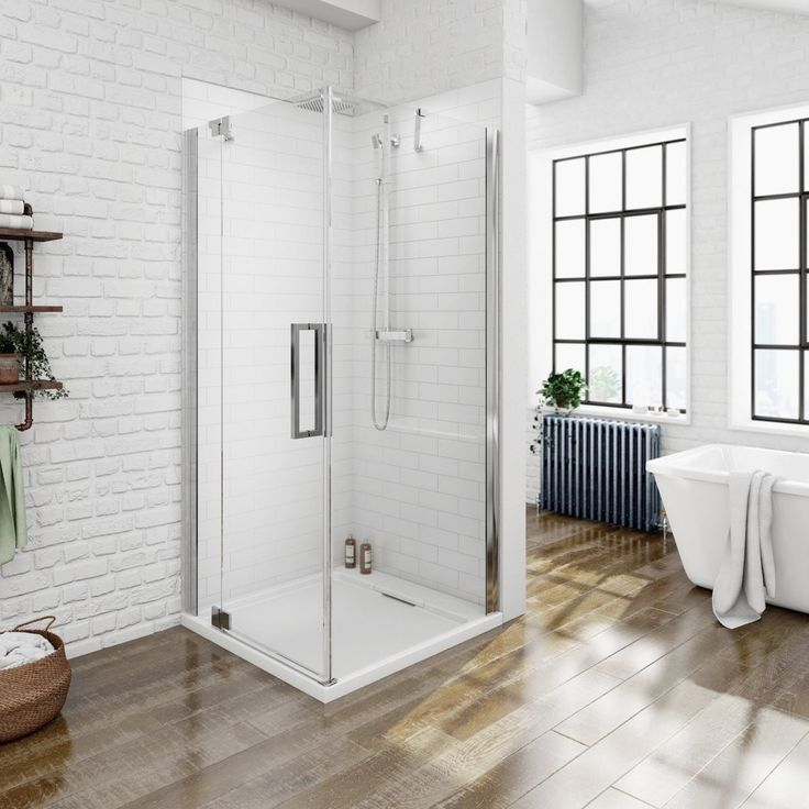 This V8+ Frameless Hinged Enclosure 760 x 900 LH PLUS Sealant is an attractive contemporary style shower enclosure that is suitable for any bathroom. The V8+ range is designed with our highest quality glass that comes with up to a 15 year product guarantee.