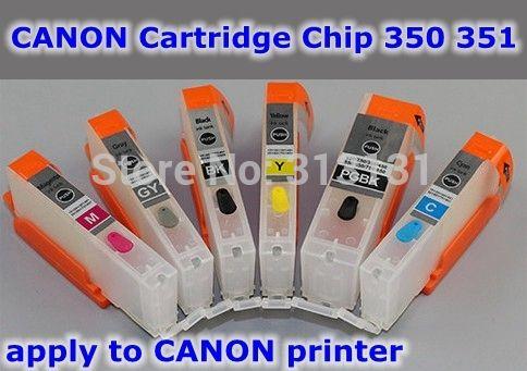 Купить товарPgi 650 CLI 651 6 color многоразового картридж применить к принтера в категории Чип картриджана AliExpress.        Заправка чернила картридж            6 цвет совместимы Заправочные патроны чернил + ARC чип      &nbs