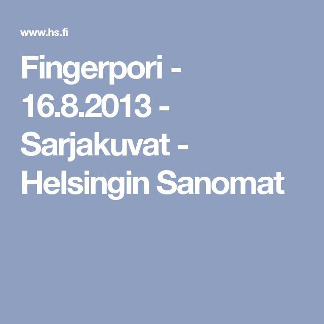 Hyvän ja pahan tiedon puu. Fingerpori - 16.8.2013 - Sarjakuvat - Helsingin Sanomat