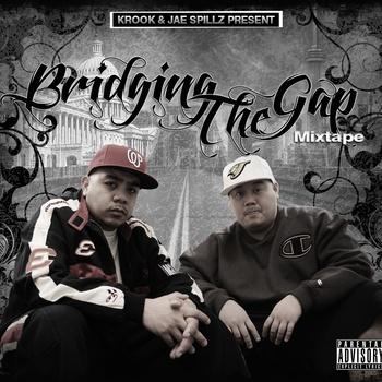 """""""Bridging The Gap""""      by Krook And Jae Spillz   (2010)           COLLABORATED EFFORT BETWEEN JAE SPILLZ AND KROOK           @officialjspillz @ KrookDC"""