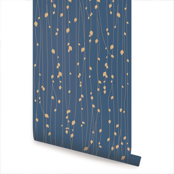 Removable wallpaper - perfect for renters like me. It's too expensive for a complete wall, but maybe an accent somewhere?