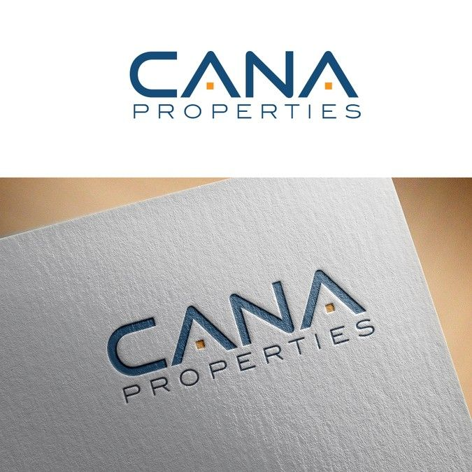 Cana Properties logo and website. by simPAL