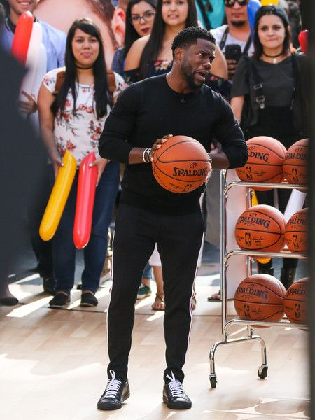 Kevin Hart Photos Photos - Kevin Hart and Tom Holland are seen at 'Jimmy Kimmel Live' on May 31, 2017. - Kevin Hart Visits 'Jimmy Kimmel Live'