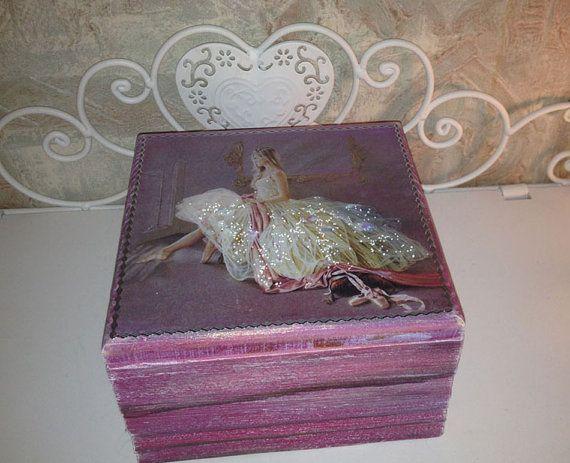 """Шкатулка для украшений """"балерина"""",ручная роспись ,Коробка побрякушки , шкатулка ручная роспись, шкатулка, подарок для нее, розовый коробка ювелирных изделий , коробка ювелирных изделий для девушки"""