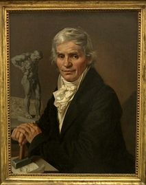 Antonín Machek - Podobizna sochaře Josefa Malinského (1818, NG Praha)