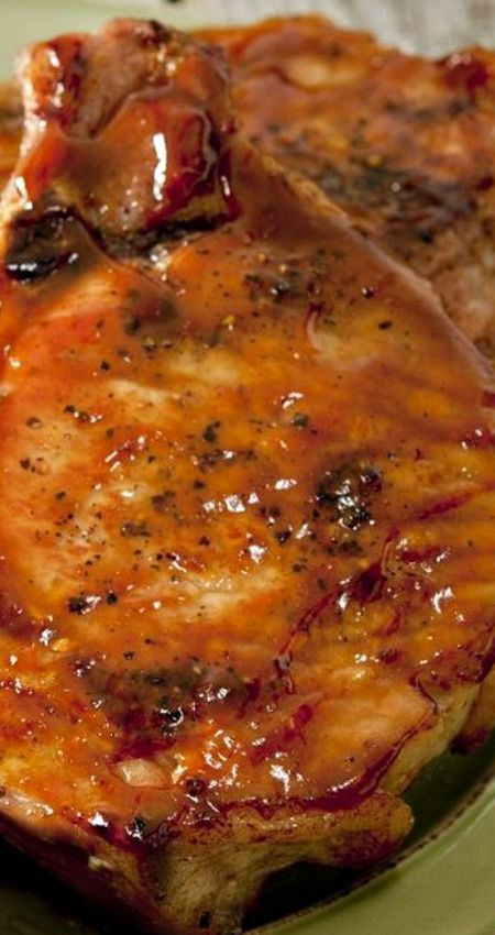 Marinated Baked Pork Chops Recipe — Dishmaps