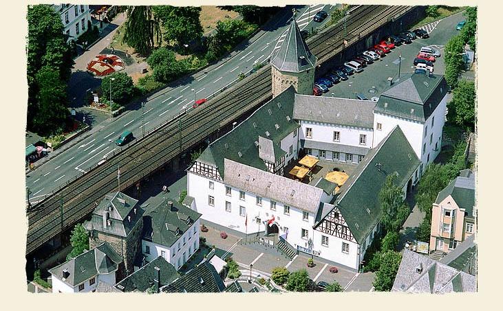 Burg Linz in Linz - Die bunte Stadt am Rhein