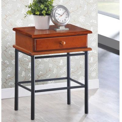 Charlotte Bedside Table With Drawer | Buy Bedroom Furniture Online - oo.com.au