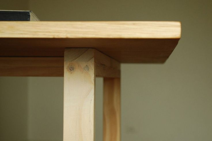 Handmade Tabel from tasmanian oak and pine. This table is easy to dismantle making it optimal for transportation or changing locations, from the parlor to the garden.