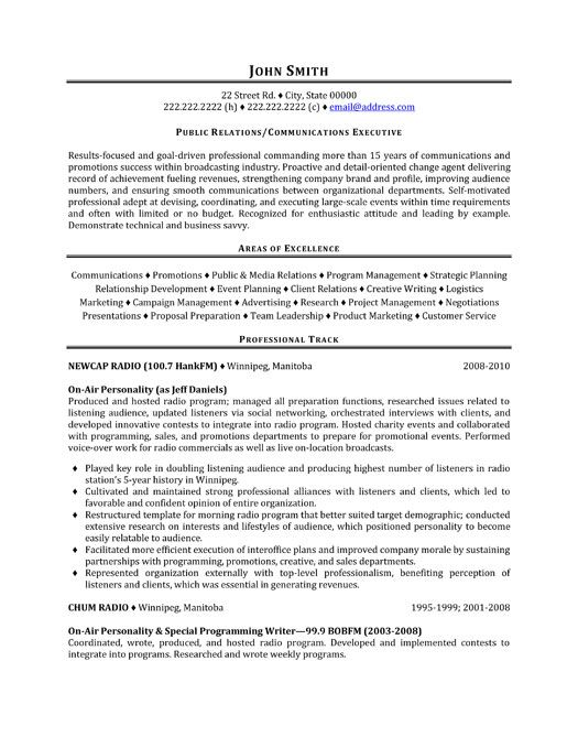 click here to download this public relations representative resume template httpwww - Sample Public Relations Manager Resume