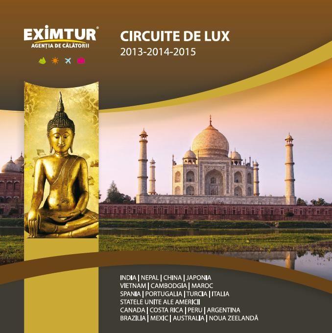 Catalog Eximtur Circuite de lux 2014 - 2015