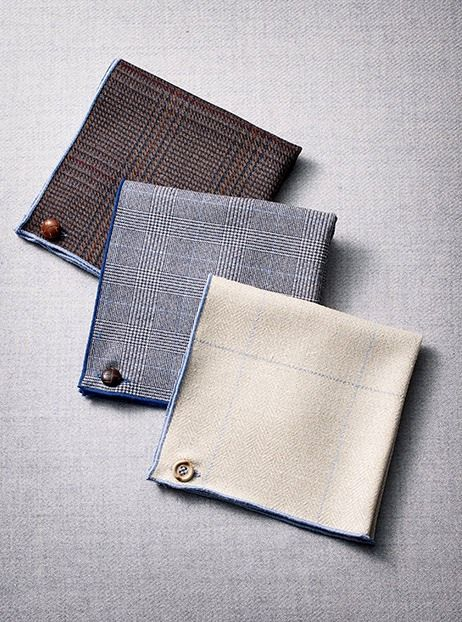 Armstrong & Wilson Pocket Squares in the current issue of Garden & Gun Magazine.
