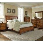 $1933.00  Broyhill - Hayden Oak Sleigh Bedroom Set - 4645SL