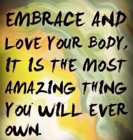 You're never too big, or too old to exercise so show your body a little love and be good to yourself.