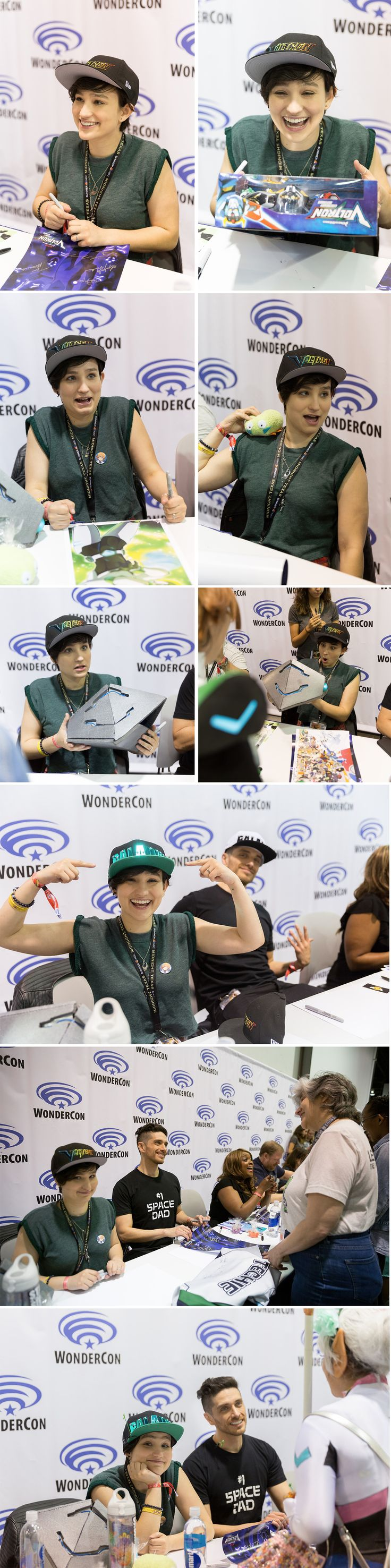 bex taylor-klaus is a gem.  she interacted so genuinely with each fan and was SO EXCITED about all the stuff they brought to show/give her! // Bless Bex