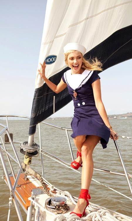 Admiral Navy Sailor Dress