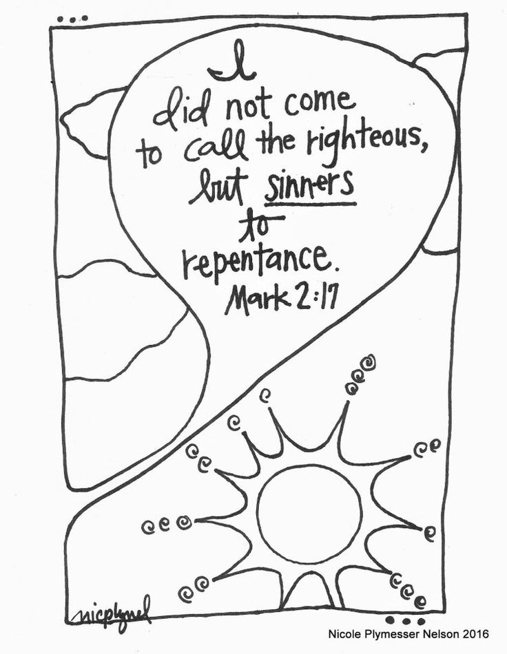 heart and jesus coloring pages - photo#20