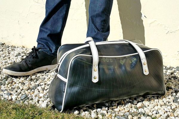 Recycle Creative - Recycled Inner Tube - Retro Gym Bag
