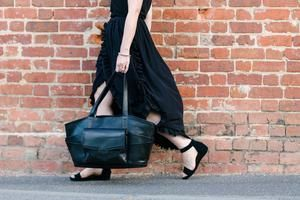 Luxe Leather Changing Bag - Tote (Baby Bag)