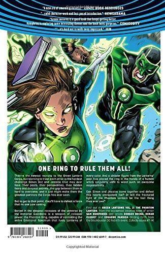Green Lanterns Vol. 2: Phantom Lantern (Rebirth) (Green Lanterns (Rebirth))