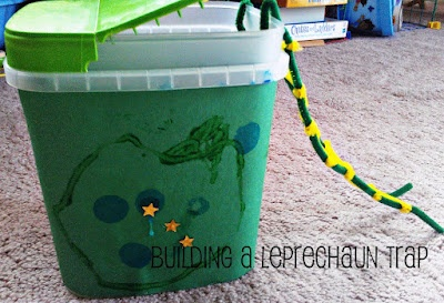 4 clovers and leprechaun traps using simple