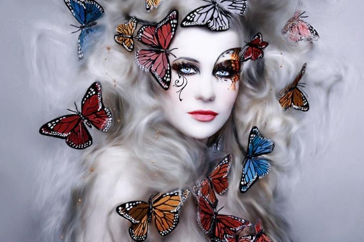 butterflies are air fairies in disguise