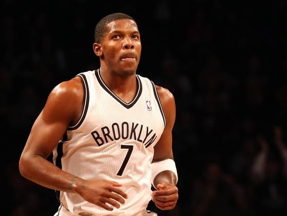 """JOE MARCUS JOHNSON is an American professional basketball player, currently a member of the Brooklyn Nets of the NBA. Johnson stands at 6'7"""" and 240 lbs. He played high school basketball for Little Rock Central High School.   Born: June 29, 1981 (age 31), Little Rock  Height: 6' 7"""" (2.01 m)  Salary: 18.04 million USD (2012)  Team: Brooklyn Nets (#7 / Shooting guard)  Education: Little Rock Central High School, University of Arkansas  Positions: Point guard, Shooting guard, Small forward"""