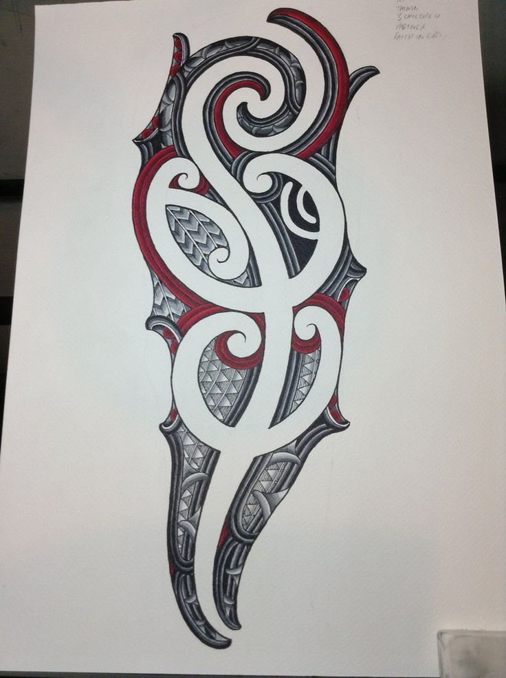Ta Moko Tattoo: Ta Moko Sleeve Design By Jayme-Watene