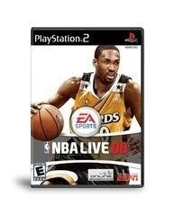 NBA Live 08 - PS2 Game