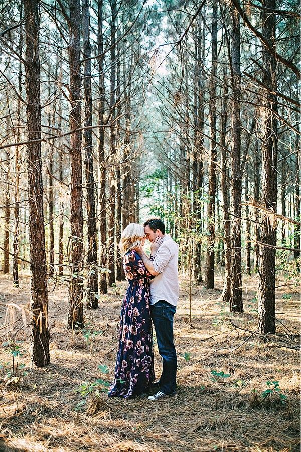 Such a beautiful composition...would love to take an engagement photo like this between the tall Saratoga pines
