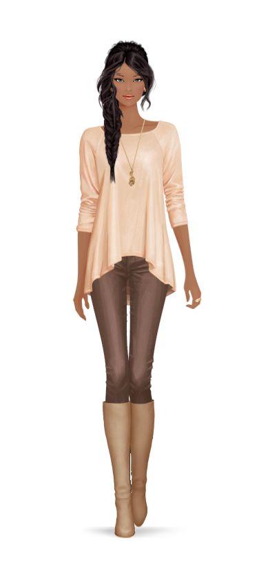 Beautiful Girl / Bella Ragazza - by Covet Fashion Game