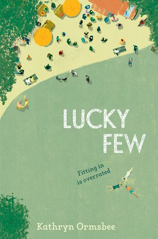 Lucky Few #book cover illustration