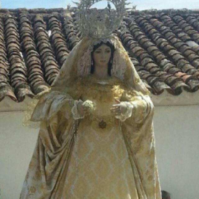 Virgen de la encarnacion en Carbonera Huelva