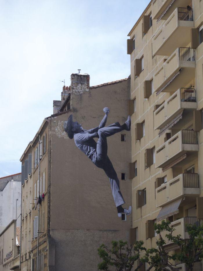 Marseille Street art : Unframed-Un projet de JR