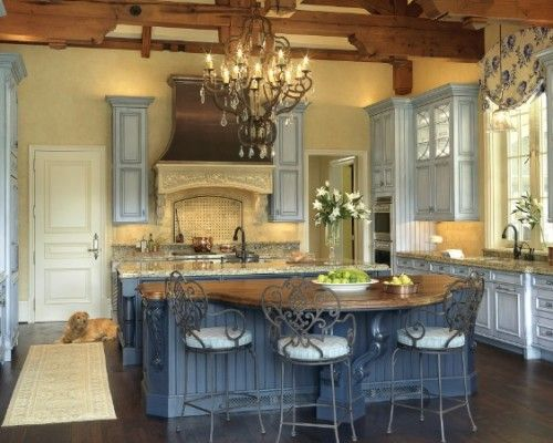 857 best images about beautiful french country on for Small white country kitchen