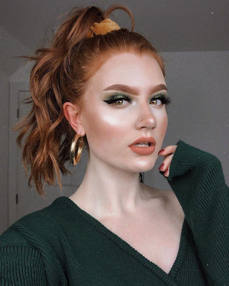 Pin By Wycliffe Olga On Natural Makeup Light Redhead Makeup Ginger Makeup Red Hair Makeup