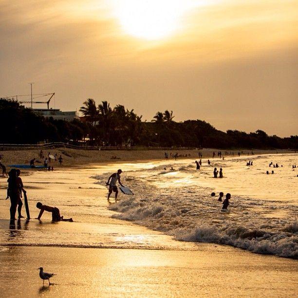 Noosa Beach in Noosa, QLD, Australia