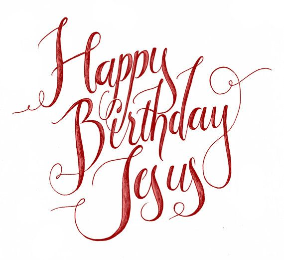 285 best christmas images on pinterest christmas wishes merry happy birthday jesus christmas card bookmarktalkfo Gallery